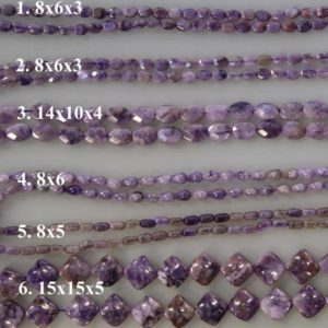 Shop Charoite Bead Shapes! Charoite Different Shapes Gemstone Beads 15.5 Inch Strand | Natural genuine other-shape Charoite beads for beading and jewelry making.  #jewelry #beads #beadedjewelry #diyjewelry #jewelrymaking #beadstore #beading #affiliate #ad