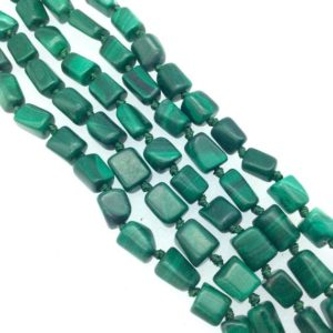 """Shop Chrysocolla Chip & Nugget Beads! 4-6mm X 8mm Natural Faceted Green Chrysocolla Nugget Beads – Sold By 15"""" Strands (approx. 50 Beads) – Natural Gemstone 