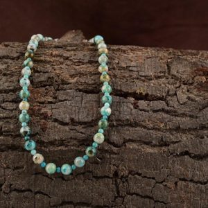 Shop Chrysocolla Necklaces! Natural Chrysocolla Necklace, Genuine Chrysocolla Beads Necklace, Beaded Chrysocolla Handmade Necklace, Chrysocolla Jewelry Necklace For Her | Natural genuine Chrysocolla necklaces. Buy crystal jewelry, handmade handcrafted artisan jewelry for women.  Unique handmade gift ideas. #jewelry #beadednecklaces #beadedjewelry #gift #shopping #handmadejewelry #fashion #style #product #necklaces #affiliate #ad