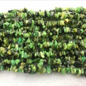Shop Chrysoprase Chip & Nugget Beads! Natural Chrysoprase 5-8mm Chips Genuine Green Loose Nugget Beads 34 Inch Jewelry Supply Bracelet Necklace Material Support | Natural genuine chip Chrysoprase beads for beading and jewelry making.  #jewelry #beads #beadedjewelry #diyjewelry #jewelrymaking #beadstore #beading #affiliate #ad
