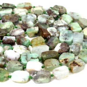 Shop Chrysoprase Chip & Nugget Beads! Natural Chrysoprase Flat Polygon Nugget Rectangle Smooth Loose Gemstone Beads – Pgs303 | Natural genuine chip Chrysoprase beads for beading and jewelry making.  #jewelry #beads #beadedjewelry #diyjewelry #jewelrymaking #beadstore #beading #affiliate #ad
