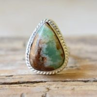 Chrysoprase Gemstone Ring / statement Ring / 925 Sterling Silver Ring / Gifts For Her / Birthstone Jewelry / Handmade Ring / Boho Rings #b332 | Natural genuine Gemstone jewelry. Buy crystal jewelry, handmade handcrafted artisan jewelry for women.  Unique handmade gift ideas. #jewelry #beadedjewelry #beadedjewelry #gift #shopping #handmadejewelry #fashion #style #product #jewelry #affiliate #ad