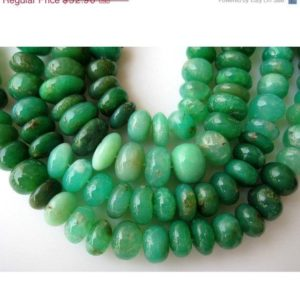 Shop Chrysoprase Rondelle Beads! 12mm Natural Chrysoprase Smooth Rondelles Beads, Shaded Chrysoprase, Rondelle Beads, 12mm Beads, Half Strand 9 Inches, 32 | Natural genuine rondelle Chrysoprase beads for beading and jewelry making.  #jewelry #beads #beadedjewelry #diyjewelry #jewelrymaking #beadstore #beading #affiliate #ad
