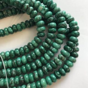 Shop Chrysoprase Rondelle Beads! Chrysoprase 8x5mm Rondelle Gemstone Beads -15.5 Inch   Natural genuine rondelle Chrysoprase beads for beading and jewelry making.  #jewelry #beads #beadedjewelry #diyjewelry #jewelrymaking #beadstore #beading #affiliate #ad