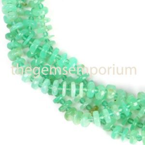 Shop Chrysoprase Rondelle Beads! Chrysoprase Plain Smooth Tyre Beads, Chrysoprase Plain Beads, Chrysoprase Smooth Beads, Chrysoprase Tyre Beads, Chrysoprase Beads | Natural genuine rondelle Chrysoprase beads for beading and jewelry making.  #jewelry #beads #beadedjewelry #diyjewelry #jewelrymaking #beadstore #beading #affiliate #ad