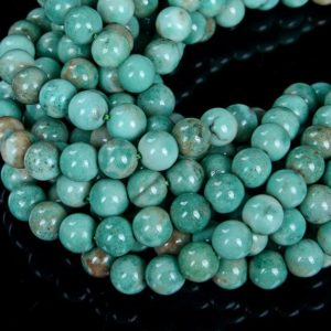 Shop Chrysoprase Round Beads! 6MM Chrysoprase Gemstone  Grade AAA Round Beads 7.5 inch Half Strand (80008035 H-D6) | Natural genuine round Chrysoprase beads for beading and jewelry making.  #jewelry #beads #beadedjewelry #diyjewelry #jewelrymaking #beadstore #beading #affiliate #ad