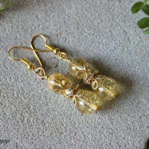Shop Citrine Earrings! Citrine Earrings, Citrine Jewelry, Gemstone Earrings, Yellow Bead Earrings, Yellow Crystal Earrings, Chakra Earrings, Birthstone Earrings | Natural genuine Citrine earrings. Buy crystal jewelry, handmade handcrafted artisan jewelry for women.  Unique handmade gift ideas. #jewelry #beadedearrings #beadedjewelry #gift #shopping #handmadejewelry #fashion #style #product #earrings #affiliate #ad
