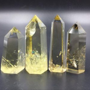 Shop Citrine Stones & Crystals! Clear Citrine Quartz Crystal Tower Point Natural Yellow Citrine Crystal Wand Obelisk Standing Point Meditation Healing Reiki Crystal Grid B | Natural genuine stones & crystals in various shapes & sizes. Buy raw cut, tumbled, or polished gemstones for making jewelry or crystal healing energy vibration raising reiki stones. #crystals #gemstones #crystalhealing #crystalsandgemstones #energyhealing #affiliate #ad