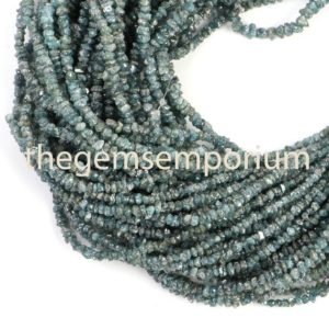 Shop Diamond Chip & Nugget Beads! Blue Treated Diamond Nuggets Beads, Blue Treated Diamond Chips, Aaa Quality, gemstone For Jewelry Making | Natural genuine chip Diamond beads for beading and jewelry making.  #jewelry #beads #beadedjewelry #diyjewelry #jewelrymaking #beadstore #beading #affiliate #ad