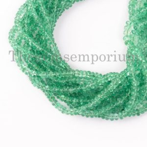 Shop Emerald Rondelle Beads! New Arrivals Colombian Emerald Plain Rondelle Beads, Natural Emerald Beads, Emerald Rondelle Beads, Emerald Smooth Beads, Rondelle Beads | Natural genuine rondelle Emerald beads for beading and jewelry making.  #jewelry #beads #beadedjewelry #diyjewelry #jewelrymaking #beadstore #beading #affiliate #ad