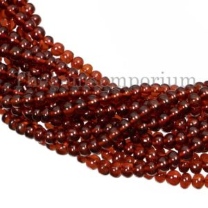 Shop Garnet Rondelle Beads! Hessonite Garnet Smooth Rondelles Beads, Hessonite Garnet Beads, Plain Rondelle Beads, Hessonite Garnet Beads, Gemstone Rondelles Beads | Natural genuine rondelle Garnet beads for beading and jewelry making.  #jewelry #beads #beadedjewelry #diyjewelry #jewelrymaking #beadstore #beading #affiliate #ad