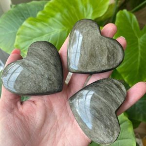 Shop Golden Obsidian Stones & Crystals! Gold Sheen Obsidian Heart, Sheen Obsidian | Natural genuine stones & crystals in various shapes & sizes. Buy raw cut, tumbled, or polished gemstones for making jewelry or crystal healing energy vibration raising reiki stones. #crystals #gemstones #crystalhealing #crystalsandgemstones #energyhealing #affiliate #ad