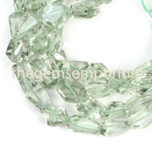 Shop Green Amethyst Beads! Green Amethyst Faceted Nuggets Shape Beads, Green Amethyst Nugget Beads, Green Amethyst Fancy Nuggets, Green Amethyst Faceted Nuggets | Natural genuine chip Green Amethyst beads for beading and jewelry making.  #jewelry #beads #beadedjewelry #diyjewelry #jewelrymaking #beadstore #beading #affiliate #ad