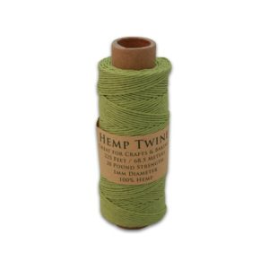 Shop Hemp Twine! Hemp Twine, All-Natural 1MM- Lime Green 225 Feet, Free Shipping | Shop jewelry making and beading supplies, tools & findings for DIY jewelry making and crafts. #jewelrymaking #diyjewelry #jewelrycrafts #jewelrysupplies #beading #affiliate #ad
