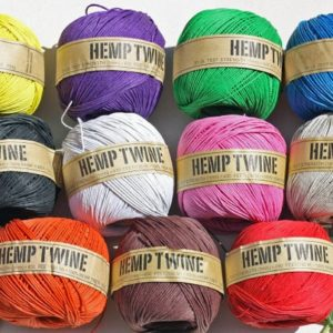 Shop Hemp Jewelry Making Supplies! Hemp twine, Hemp cord, Ideal for macrame, crafts & jewellery .6 Strand – 20LB BS  (430ft) 130 Metre x 1MM Thick | Shop jewelry making and beading supplies, tools & findings for DIY jewelry making and crafts. #jewelrymaking #diyjewelry #jewelrycrafts #jewelrysupplies #beading #affiliate #ad