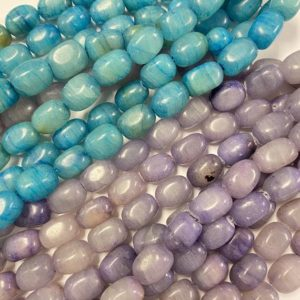 Shop Jade Chip & Nugget Beads! Jade 18x12x12mm Nugget Gemstone beads — 7.5 inch strand 1 strand /3 strands | Natural genuine chip Jade beads for beading and jewelry making.  #jewelry #beads #beadedjewelry #diyjewelry #jewelrymaking #beadstore #beading #affiliate #ad