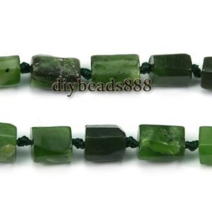 Shop Jade Chip & Nugget Beads! Canada Jade,15 inch strand New Canada Jade faceted nugget beads,irregular beads,smooth beads,Canadian Jade,6-9mm | Natural genuine chip Jade beads for beading and jewelry making.  #jewelry #beads #beadedjewelry #diyjewelry #jewelrymaking #beadstore #beading #affiliate #ad