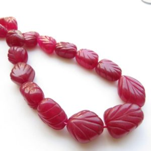Shop Jade Chip & Nugget Beads! Pink Jade Carved Tumble Beads, Pink Jade Tumbles, 15mm To 21mm Pink Jade Hand Carved Beads, 17 Inch Bead Strand, Gds1417   Natural genuine chip Jade beads for beading and jewelry making.  #jewelry #beads #beadedjewelry #diyjewelry #jewelrymaking #beadstore #beading #affiliate #ad