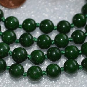 Jade Mala Necklace Gemstone Mala Tassel Necklace Green Jade Prayer Bead Mala Bead Yoga Fashion Tassel Mala Necklace Christmas Gifts for him | Natural genuine Gemstone necklaces. Buy crystal jewelry, handmade handcrafted artisan jewelry for women.  Unique handmade gift ideas. #jewelry #beadednecklaces #beadedjewelry #gift #shopping #handmadejewelry #fashion #style #product #necklaces #affiliate #ad