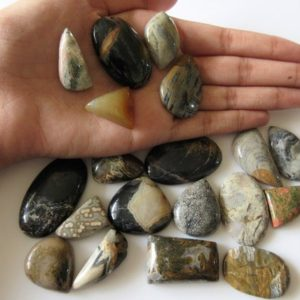 Shop Jasper Shapes! 19 Pieces 22mm To 33mm Jasper Mix Shaped Smooth Loose Gemstones Cl19 | Natural genuine stones & crystals in various shapes & sizes. Buy raw cut, tumbled, or polished gemstones for making jewelry or crystal healing energy vibration raising reiki stones. #crystals #gemstones #crystalhealing #crystalsandgemstones #energyhealing #affiliate #ad