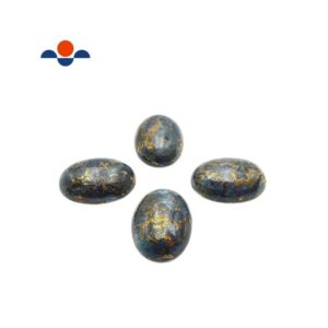 Shop Kyanite Cabochons! Kyanite Oval Cabochon Size 18x25mm Sold Per Piece | Natural genuine stones & crystals in various shapes & sizes. Buy raw cut, tumbled, or polished gemstones for making jewelry or crystal healing energy vibration raising reiki stones. #crystals #gemstones #crystalhealing #crystalsandgemstones #energyhealing #affiliate #ad
