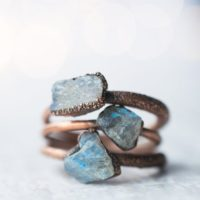 Raw Labradorite Ring | Gemstone Stacking Ring | Handmade Labradorite Ring | Raw Mineral Jewelry | Labradorite Stacking Ring | Natural genuine Gemstone jewelry. Buy crystal jewelry, handmade handcrafted artisan jewelry for women.  Unique handmade gift ideas. #jewelry #beadedjewelry #beadedjewelry #gift #shopping #handmadejewelry #fashion #style #product #jewelry #affiliate #ad