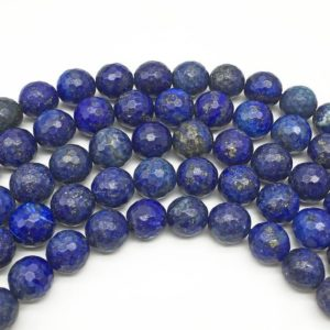 Shop Lapis Lazuli Faceted Beads! 10mm Faceted Lapis Lazuli Beads, Gemstone Beads, Wholesale Beads | Natural genuine faceted Lapis Lazuli beads for beading and jewelry making.  #jewelry #beads #beadedjewelry #diyjewelry #jewelrymaking #beadstore #beading #affiliate #ad