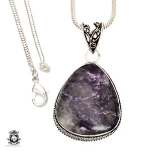 Shop Lepidolite Pendants! Lepidolite (manitoba Mined) Pendant 4mm Italian Snake Chain V1506 | Natural genuine Lepidolite pendants. Buy crystal jewelry, handmade handcrafted artisan jewelry for women.  Unique handmade gift ideas. #jewelry #beadedpendants #beadedjewelry #gift #shopping #handmadejewelry #fashion #style #product #pendants #affiliate #ad