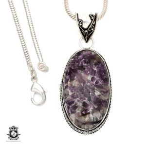 Shop Lepidolite Pendants! Lepidolite (manitoba Mined) Pendant 4mm Italian Snake Chain V1507 | Natural genuine Lepidolite pendants. Buy crystal jewelry, handmade handcrafted artisan jewelry for women.  Unique handmade gift ideas. #jewelry #beadedpendants #beadedjewelry #gift #shopping #handmadejewelry #fashion #style #product #pendants #affiliate #ad