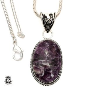 Shop Lepidolite Pendants! Lepidolite (manitoba Mined) Pendant 4mm Italian Snake Chain V1501 | Natural genuine Lepidolite pendants. Buy crystal jewelry, handmade handcrafted artisan jewelry for women.  Unique handmade gift ideas. #jewelry #beadedpendants #beadedjewelry #gift #shopping #handmadejewelry #fashion #style #product #pendants #affiliate #ad