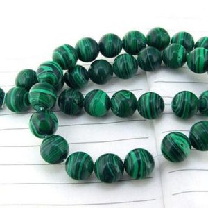 Shop Malachite Necklaces! Green Malachite Beads Smooth Round Beads 4 6 8 10 12 &14mm available , Malachite Necklace ,Jewelry making | Natural genuine Malachite necklaces. Buy crystal jewelry, handmade handcrafted artisan jewelry for women.  Unique handmade gift ideas. #jewelry #beadednecklaces #beadedjewelry #gift #shopping #handmadejewelry #fashion #style #product #necklaces #affiliate #ad