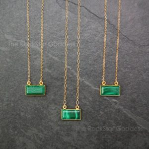 Shop Malachite Jewelry! Gold Malachite Necklace / Malachite Necklace / Malachite Pendant / Malachite Jewelry / Mothers Day Gift | Natural genuine Malachite jewelry. Buy crystal jewelry, handmade handcrafted artisan jewelry for women.  Unique handmade gift ideas. #jewelry #beadedjewelry #beadedjewelry #gift #shopping #handmadejewelry #fashion #style #product #jewelry #affiliate #ad