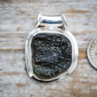 Moldavite Pendant – Raw Moldavite Pendant Raw Uncut Moldavite Tube Bale Raw Moldavite Sterling Silver Pendant – Moldavite Pendant Moldavite | Natural genuine Gemstone jewelry. Buy crystal jewelry, handmade handcrafted artisan jewelry for women.  Unique handmade gift ideas. #jewelry #beadedjewelry #beadedjewelry #gift #shopping #handmadejewelry #fashion #style #product #jewelry #affiliate #ad