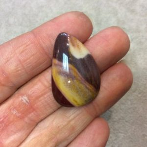 Natural Mookaite Curved Teardrop Shaped Flat Back Cabochon – Measuring 21mm X 31mm, 6mm Dome Height – Natural High Quality Gemstone | Natural genuine stones & crystals in various shapes & sizes. Buy raw cut, tumbled, or polished gemstones for making jewelry or crystal healing energy vibration raising reiki stones. #crystals #gemstones #crystalhealing #crystalsandgemstones #energyhealing #affiliate #ad