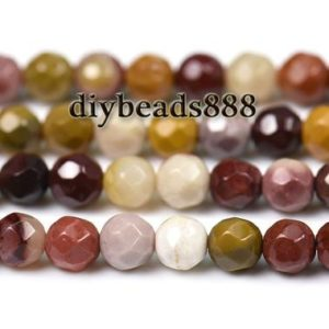 Shop Mookaite Jasper Faceted Beads! Mookaite,15 inch full strand natural Mookaite faceted round beads 2mm 3mm for Choice | Natural genuine faceted Mookaite Jasper beads for beading and jewelry making.  #jewelry #beads #beadedjewelry #diyjewelry #jewelrymaking #beadstore #beading #affiliate #ad