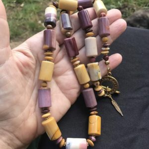 Shop Mookaite Jasper Necklaces! MOOKAITE JASPER necklace | Natural genuine Mookaite Jasper necklaces. Buy crystal jewelry, handmade handcrafted artisan jewelry for women.  Unique handmade gift ideas. #jewelry #beadednecklaces #beadedjewelry #gift #shopping #handmadejewelry #fashion #style #product #necklaces #affiliate #ad