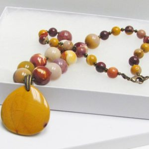 Shop Mookaite Jasper Necklaces! Mookaite Jasper Necklace Set | Natural genuine Mookaite Jasper necklaces. Buy crystal jewelry, handmade handcrafted artisan jewelry for women.  Unique handmade gift ideas. #jewelry #beadednecklaces #beadedjewelry #gift #shopping #handmadejewelry #fashion #style #product #necklaces #affiliate #ad