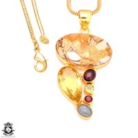 Brecciated Mookaite 24k Gold Plated Pendant 3mm Italian Snake Chain Gp128 | Natural genuine Gemstone jewelry. Buy crystal jewelry, handmade handcrafted artisan jewelry for women.  Unique handmade gift ideas. #jewelry #beadedjewelry #beadedjewelry #gift #shopping #handmadejewelry #fashion #style #product #jewelry #affiliate #ad