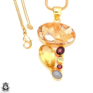 Shop Mookaite Jasper Pendants! Brecciated Mookaite 24K Gold Plated Pendant 3MM Italian Snake Chain GP128 | Natural genuine Mookaite Jasper pendants. Buy crystal jewelry, handmade handcrafted artisan jewelry for women.  Unique handmade gift ideas. #jewelry #beadedpendants #beadedjewelry #gift #shopping #handmadejewelry #fashion #style #product #pendants #affiliate #ad