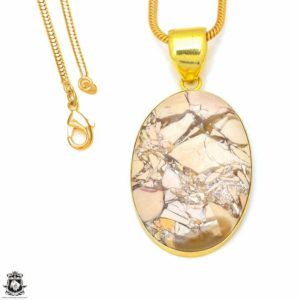 Shop Mookaite Jasper Pendants! Brecciated Mookaite 24K Gold Plated Pendant 3MM Italian Snake Chain GPH306 | Natural genuine Mookaite Jasper pendants. Buy crystal jewelry, handmade handcrafted artisan jewelry for women.  Unique handmade gift ideas. #jewelry #beadedpendants #beadedjewelry #gift #shopping #handmadejewelry #fashion #style #product #pendants #affiliate #ad