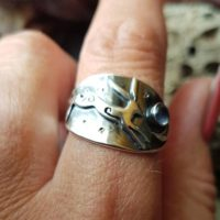 Silver Moon And Hare Ring With Moonstone , Leaping Hare Saddle Ring With Crescent Moon And Stars | Natural genuine Gemstone jewelry. Buy crystal jewelry, handmade handcrafted artisan jewelry for women.  Unique handmade gift ideas. #jewelry #beadedjewelry #beadedjewelry #gift #shopping #handmadejewelry #fashion #style #product #jewelry #affiliate #ad