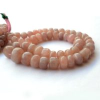 Morganite Smooth Rondelle Beads, 8mm To 14mm Morganite Stone, Pink Aquamarine Morganite Necklace, Sold As 8 Inch / 16 Inch Strand, Gds2045 | Natural genuine Gemstone jewelry. Buy crystal jewelry, handmade handcrafted artisan jewelry for women.  Unique handmade gift ideas. #jewelry #beadedjewelry #beadedjewelry #gift #shopping #handmadejewelry #fashion #style #product #jewelry #affiliate #ad