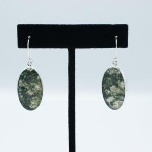Shop Moss Agate Earrings! Moss Agate Earrings // Agate Jewelry // Sterling Silver // Village Silversmith | Natural genuine Moss Agate earrings. Buy crystal jewelry, handmade handcrafted artisan jewelry for women.  Unique handmade gift ideas. #jewelry #beadedearrings #beadedjewelry #gift #shopping #handmadejewelry #fashion #style #product #earrings #affiliate #ad