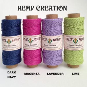 Shop Hemp Twine! Natural Hemp Twine – Package Of 27 True Hemp Spools – 1mm / 20lb Or 0.5mm / 10lb – 50gram Per Spool – Free Shipping | Shop jewelry making and beading supplies, tools & findings for DIY jewelry making and crafts. #jewelrymaking #diyjewelry #jewelrycrafts #jewelrysupplies #beading #affiliate #ad