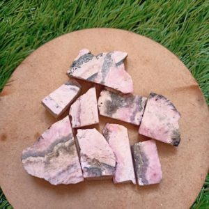 Shop Raw & Rough Rhodochrosite Stones! Natural Raw Rhodochrosite – Rough Gemstone –  Pink Rhodochrosite – Healing Stone-Argentina Rhodochrosite | Natural genuine stones & crystals in various shapes & sizes. Buy raw cut, tumbled, or polished gemstones for making jewelry or crystal healing energy vibration raising reiki stones. #crystals #gemstones #crystalhealing #crystalsandgemstones #energyhealing #affiliate #ad