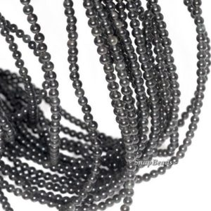 Shop Obsidian Round Beads! 3mm Chatoyant Mystique Black Obsidian Gemstone Round 3mm Loose Beads 16 inch Full Strand (90114018-107 – 3mm A)   Natural genuine round Obsidian beads for beading and jewelry making.  #jewelry #beads #beadedjewelry #diyjewelry #jewelrymaking #beadstore #beading #affiliate #ad