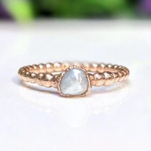 Shop Pearl Rings! Freshwater pearl ring, Size 8.5 Ring, June Birthstone ring, Pearl engagement ring, Pearl Promise ring, Gold Stacking ring, Beaded Boho ring | Natural genuine Pearl rings, simple unique alternative gemstone engagement rings. #rings #jewelry #bridal #wedding #jewelryaccessories #engagementrings #weddingideas #affiliate #ad