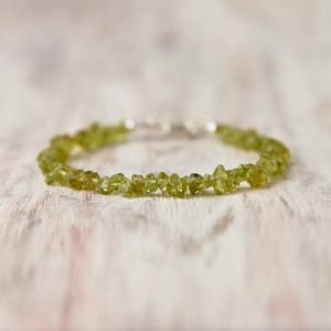 Shop Peridot Bracelets! Peridot bracelet silver August birthstone jewelry Crystal peridot jewelry Bead gemstone jewelry Healing gemstone bracelet Wifes gift for her | Natural genuine Peridot bracelets. Buy crystal jewelry, handmade handcrafted artisan jewelry for women.  Unique handmade gift ideas. #jewelry #beadedbracelets #beadedjewelry #gift #shopping #handmadejewelry #fashion #style #product #bracelets #affiliate #ad