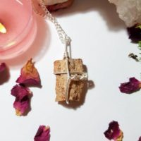 Fossilized Wood Necklace – Agatized Wood – Petrified Wood | Natural genuine Gemstone jewelry. Buy crystal jewelry, handmade handcrafted artisan jewelry for women.  Unique handmade gift ideas. #jewelry #beadedjewelry #beadedjewelry #gift #shopping #handmadejewelry #fashion #style #product #jewelry #affiliate #ad