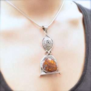 Shop Pietersite Pendants! Pietersite Vortex Pendant // Pietersite Jewelry // Sterling Silver // Village Silversmith | Natural genuine Pietersite pendants. Buy crystal jewelry, handmade handcrafted artisan jewelry for women.  Unique handmade gift ideas. #jewelry #beadedpendants #beadedjewelry #gift #shopping #handmadejewelry #fashion #style #product #pendants #affiliate #ad